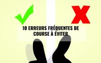 10 erreurs de course à éviter - JOGGING-COURSE
