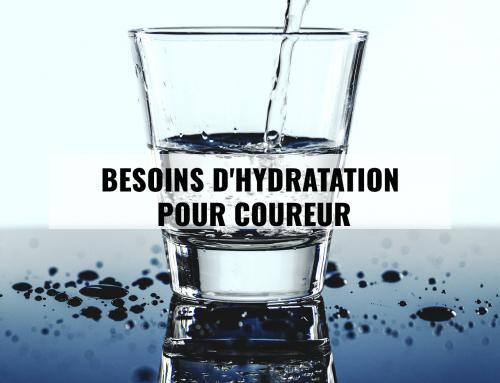 Besoins d'hydratation pour coureurs