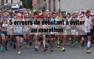 5 erreurs de débutant à éviter au marathon 7