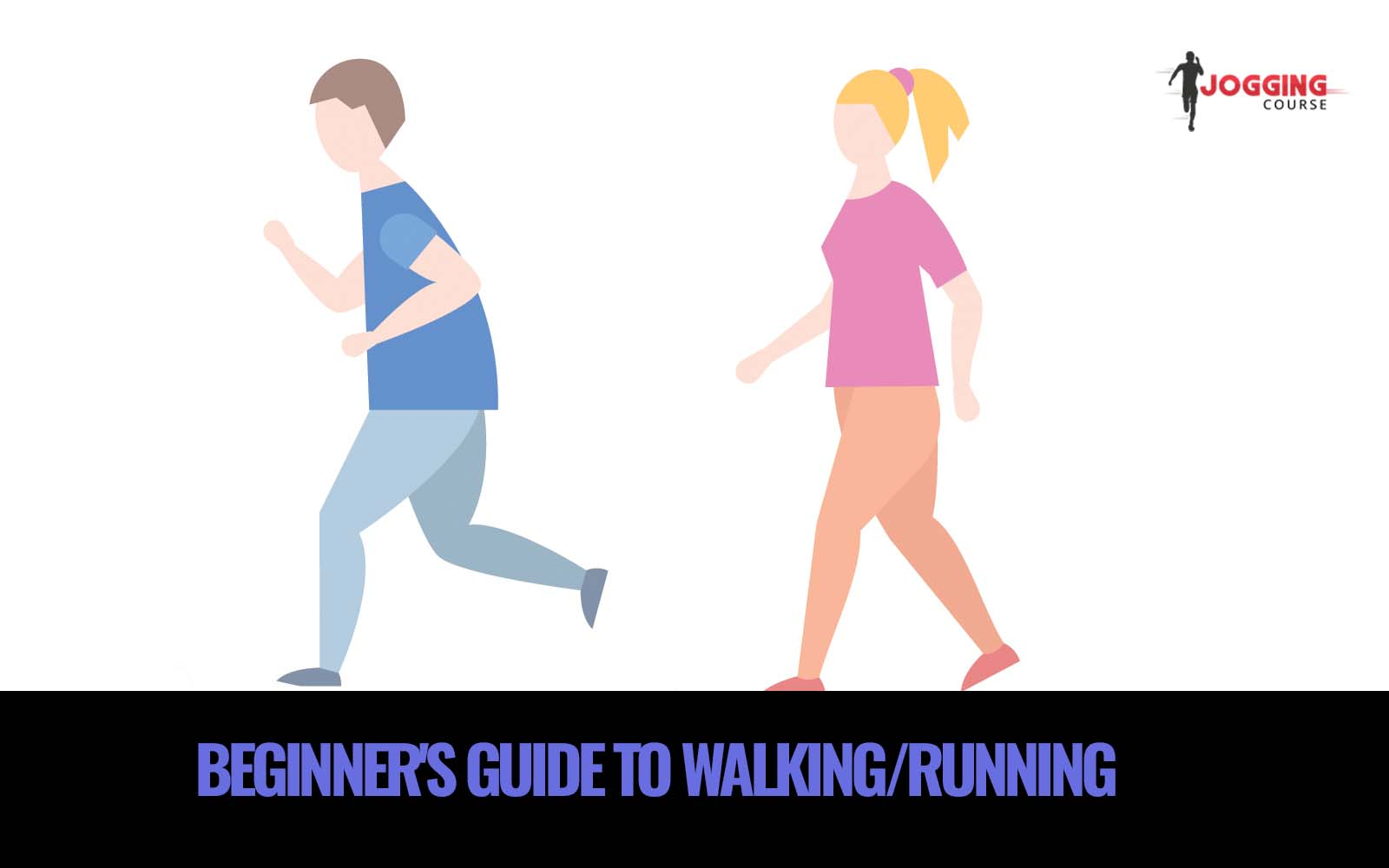 guide to run and walk jogging-course
