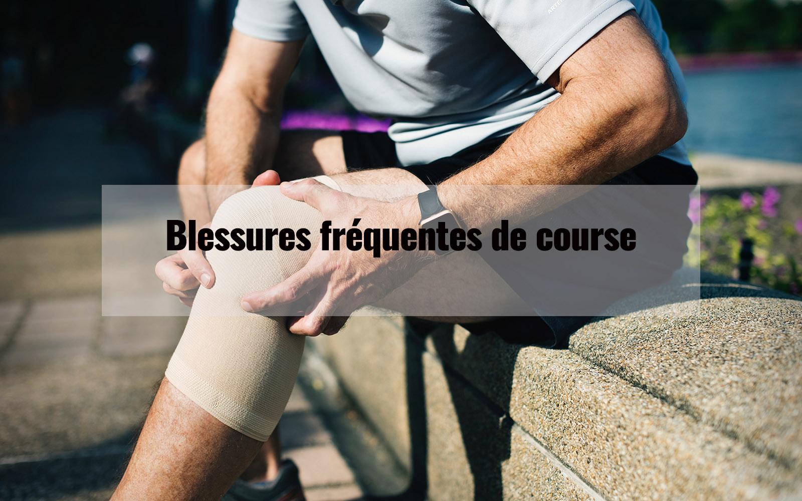 Blessures communes de jogging