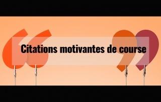 Citations motivantes de course à pied 2