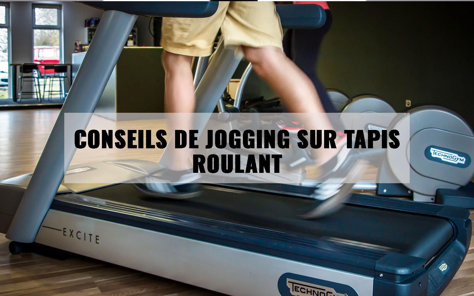 Conseils de jogging sur tapis roulant