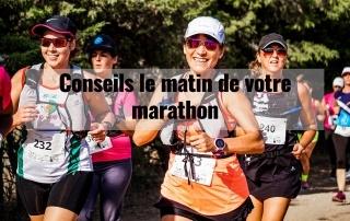 Conseils le matin de votre marathon 8