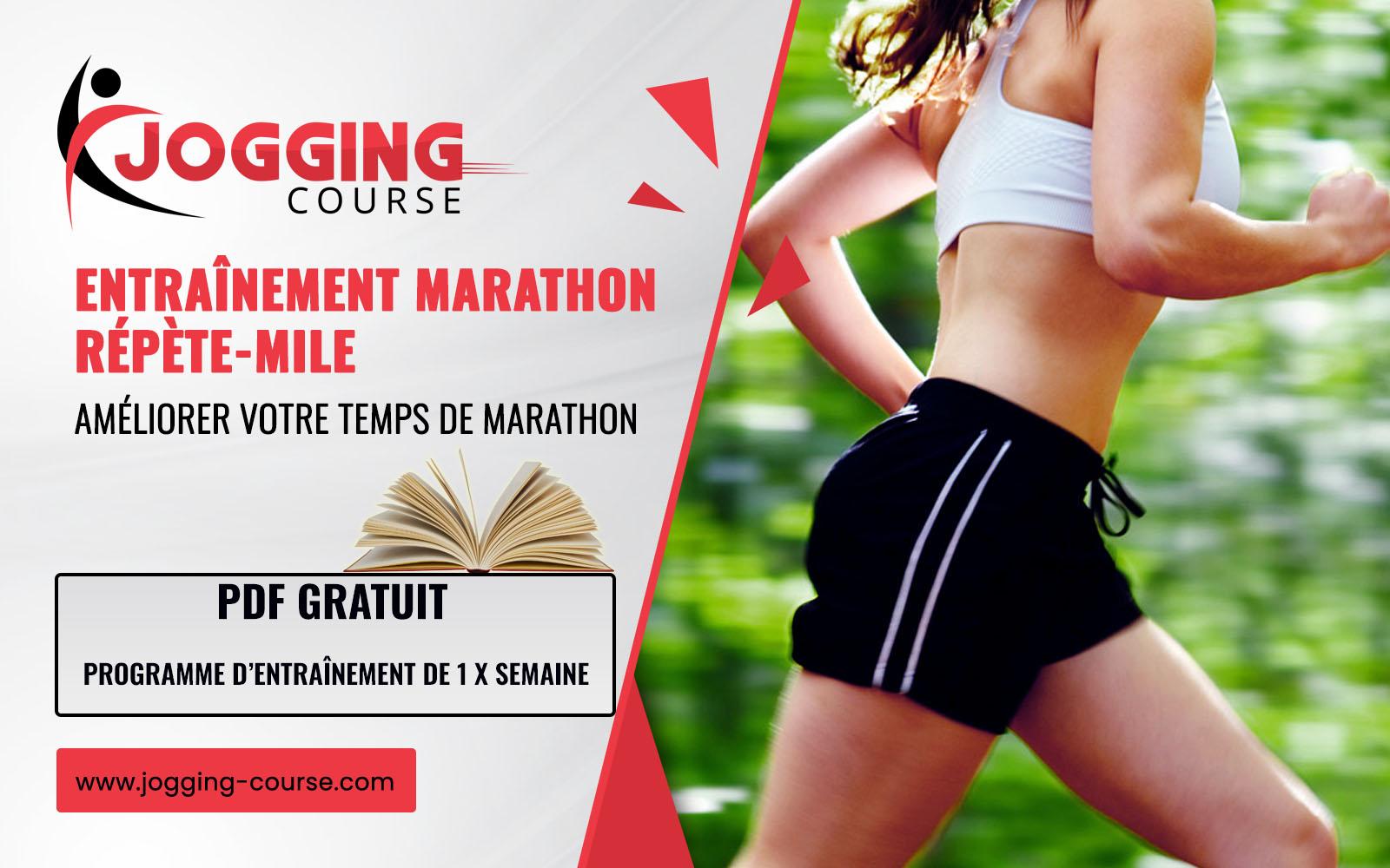 Entraînement marathon répète-mile