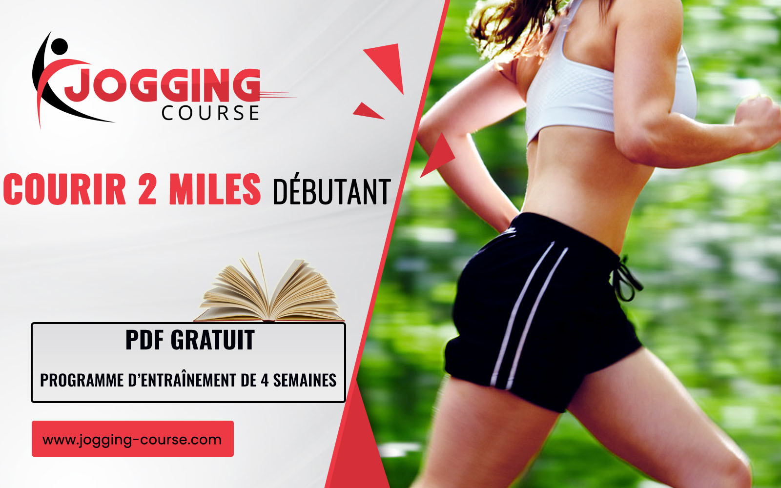 Programme 4 semaines pour courir 2 miles