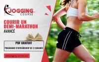 programme de course à pied coureur avancé 21.1 km demi-marathon Jogging-Course