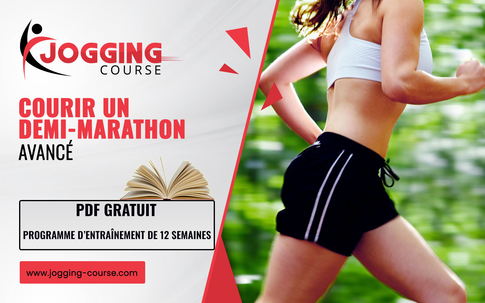 Programme demi-marathon (21.1 km) : Débutant avancé