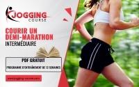 programme demi-marathon 21.1 km pour coureurs intermédiaires Jogging-Course