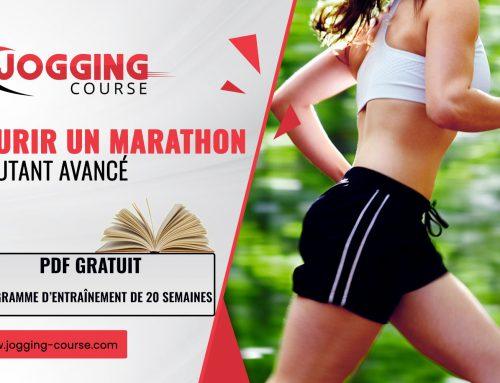 Programme marathon (42.2 km) :  Débutant avancé