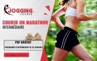 programme de course à pied pour courir un marathon, coureurs intermédiaires Jogging-Course PDF gratuit