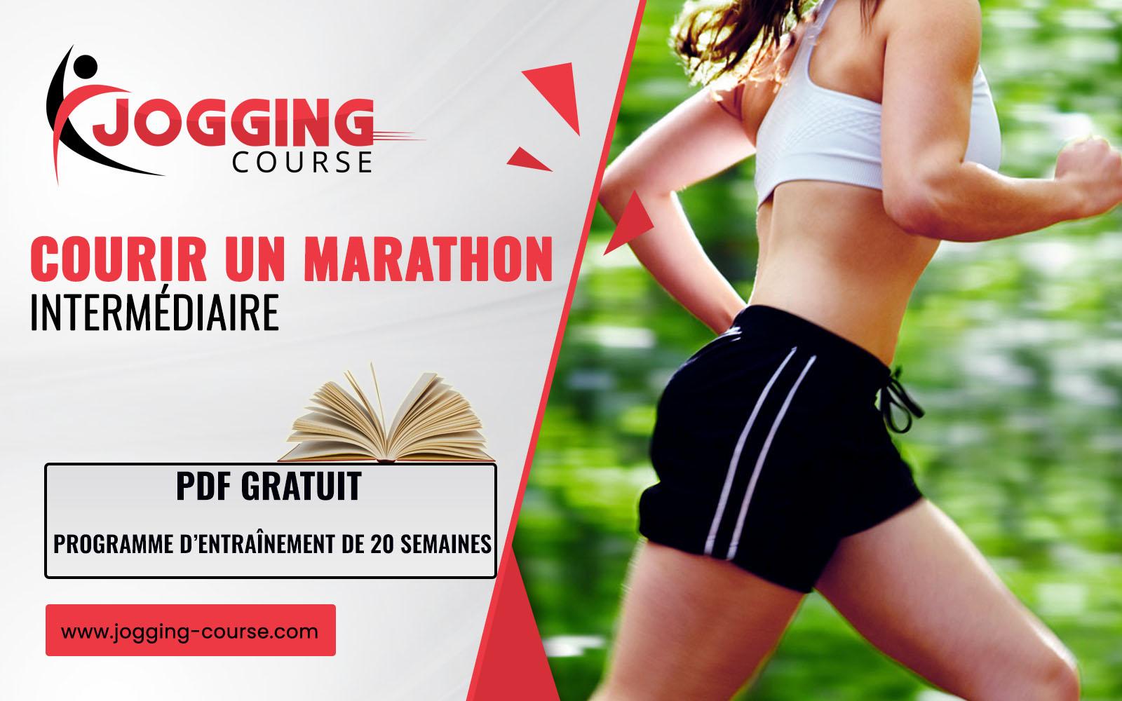 Programme marathon (42.2 km) : Intermédiaire