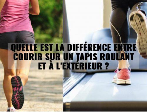 Quelle est la différence entre courir sur un tapis roulant et à l'extérieur ?