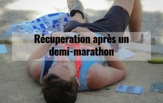 Récupération après un demi-marathon 3