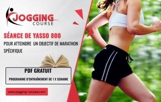 Séance de Yasso 800 6