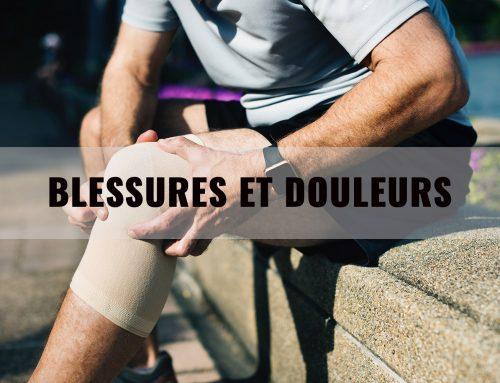 Blessures et douleurs