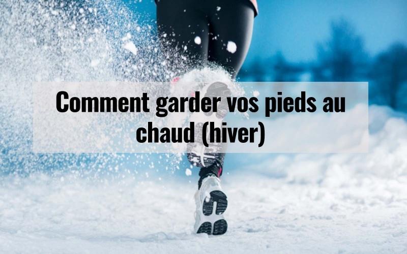 Suivez ces conseils pour garder vos pieds au chaud afin que vous puissiez profiter de ces courses d'hiver :
