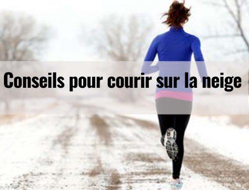 Conseils pour courir sur la neige