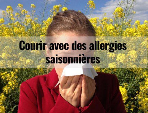 Courir avec des allergies saisonnières