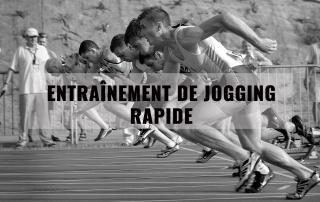 Entraînement de jogging rapide 1