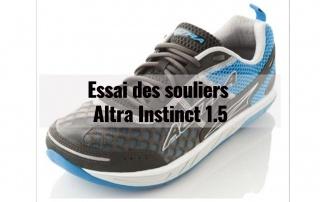Essai des souliers Altra Instinct 1.5 3