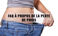 FAQ à propos de la perte de poids 4