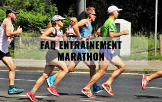 faq entrainement marathon