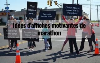 Idées d'affiches motivantes de marathon 2