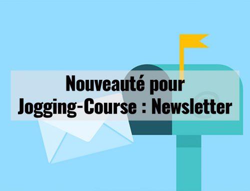 Nouveauté pour Jogging-Course : Newsletter