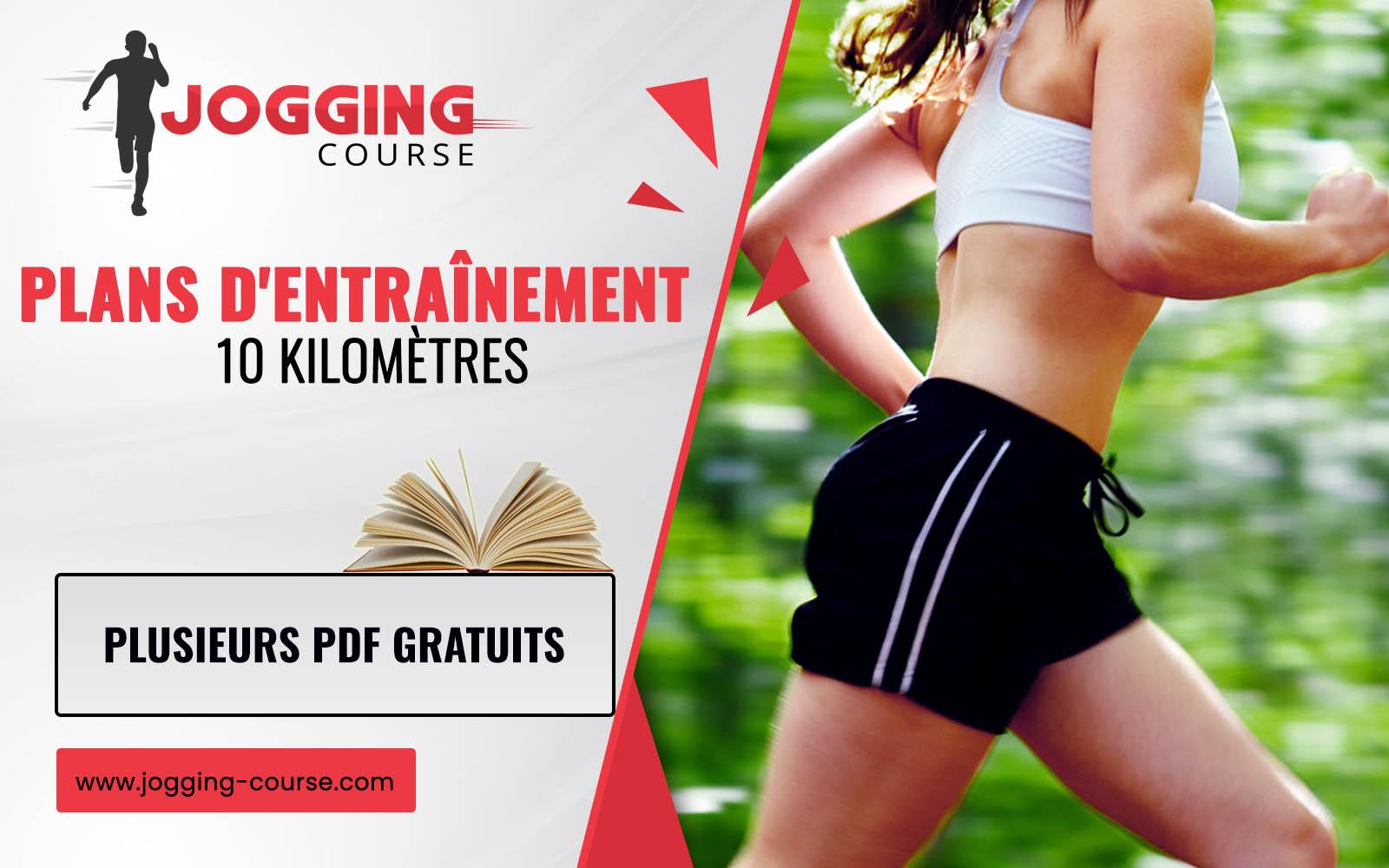 Plans d'entraînement 10 kilomètres