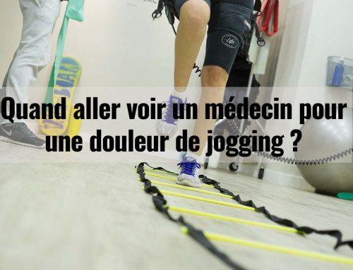 Quand aller voir un médecin pour une douleur de jogging ?