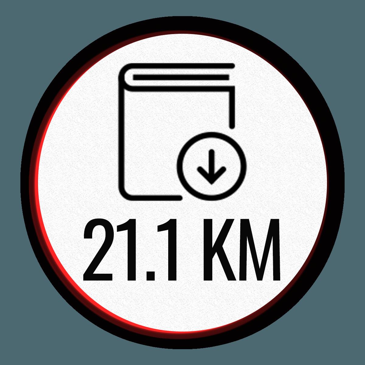 Programme demi-marathon 21.1km Jogging-course