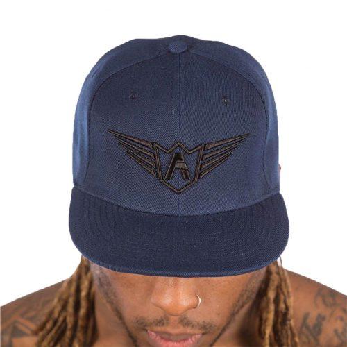 casquette fermeture arrière fa bleu marin