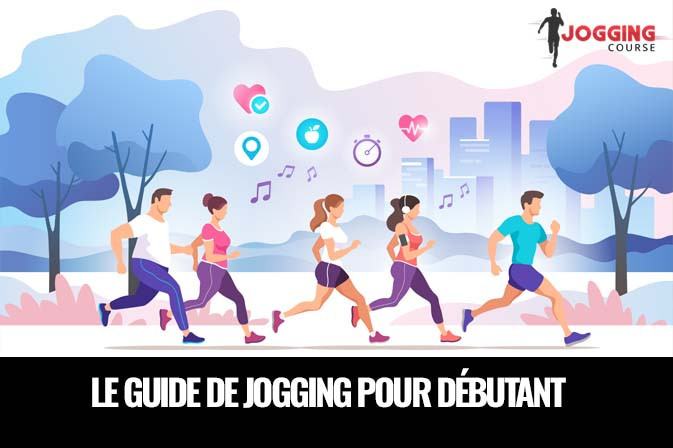 le guide de jogging débutant , groupe de gens qui courent ensemble